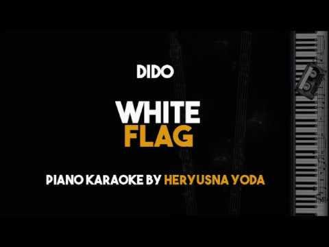 Dido - White Flag (Acoustic Piano Karaoke Version)