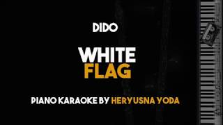 Dido - White Flag (Acoustic Piano Karaoke Backing Track with Lyrics)