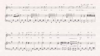Violin  - God Bless America - Irving Berlin - Sheet Music, Chords, & Vocals