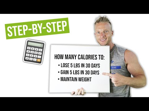 How Many Calories Should I Eat To Lose 5 Pounds in 30 Days ...
