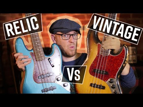 Fender CS Relic Vs The REAL thing (and I'm giving BOTH away