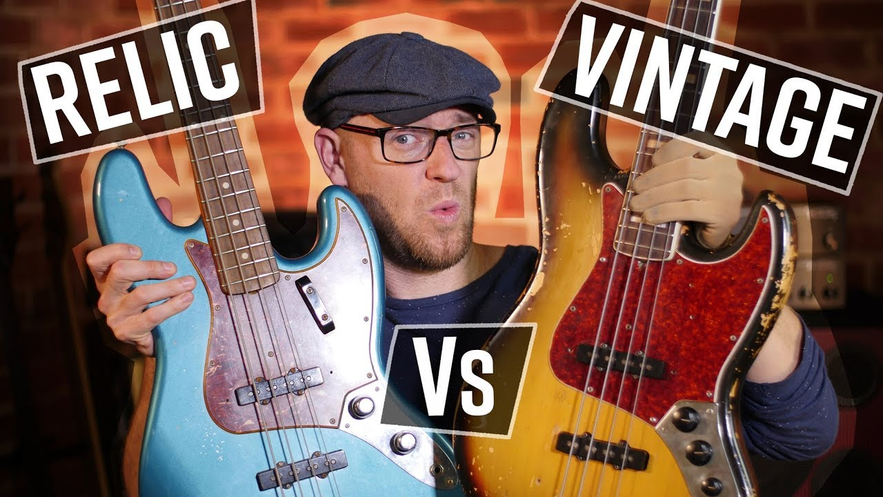 Fender CS Relic Vs The REAL thing (and I'm giving BOTH away)