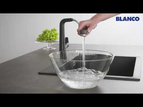 Кухонный смеситель BLANCO AVONA-S с выдвижным изливом