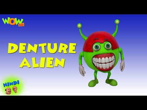 Denture Alien - Motu Patlu in Hindi WITH ENGLISH, SPANISH & FRENCH SUBTITLES thumbnail