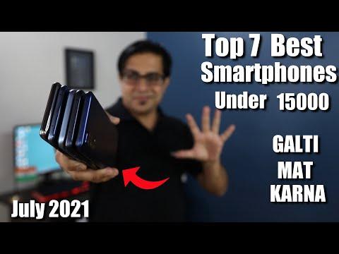 TOP 7 Best Smartphone Under 15000 in July 2021 I Best Mobile Phones under 15000
