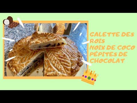 recette-de-galette-des-rois-à-la-noix-de-coco-et-pépites-de-chocolat-rapide-et-façile