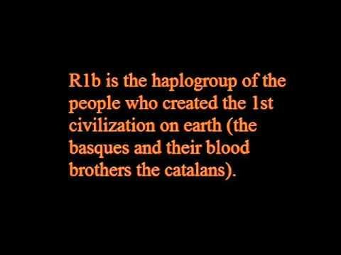 R1b has its origin in the basque people