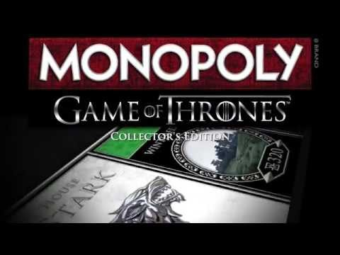 Monopoly: Game of Thrones Official Unboxing Video by USAopoly