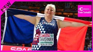 Euro-2018 à Berlin : la Bretonne Alexandra Tavernier, accroche l'argent avec son marteau !