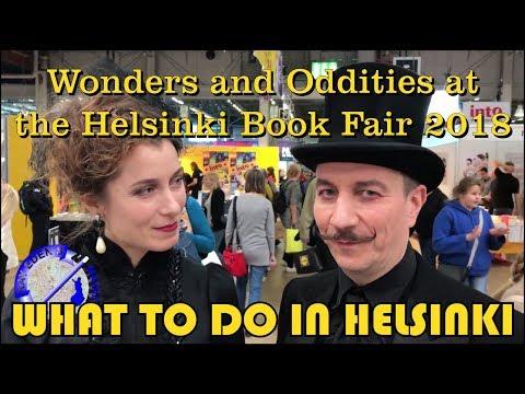 Fantastic Wonders and Oddities at the Helsinki Book Fair 2018