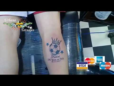 Urbano Tatuajes Balon Futbol Youtube