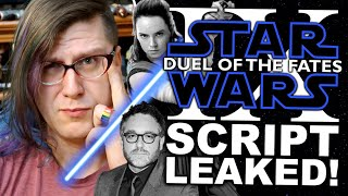The Star Wars Episode IX We ALMOST Had Got Leaked!