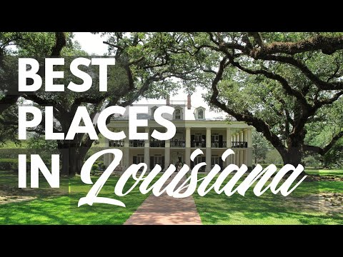 10 Best Travel Destinations in Louisiana USA