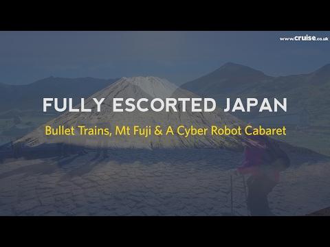 Fully Escorted Japan: Bullet Trains, Mt Fuji & A Cyber Robot Cabaret