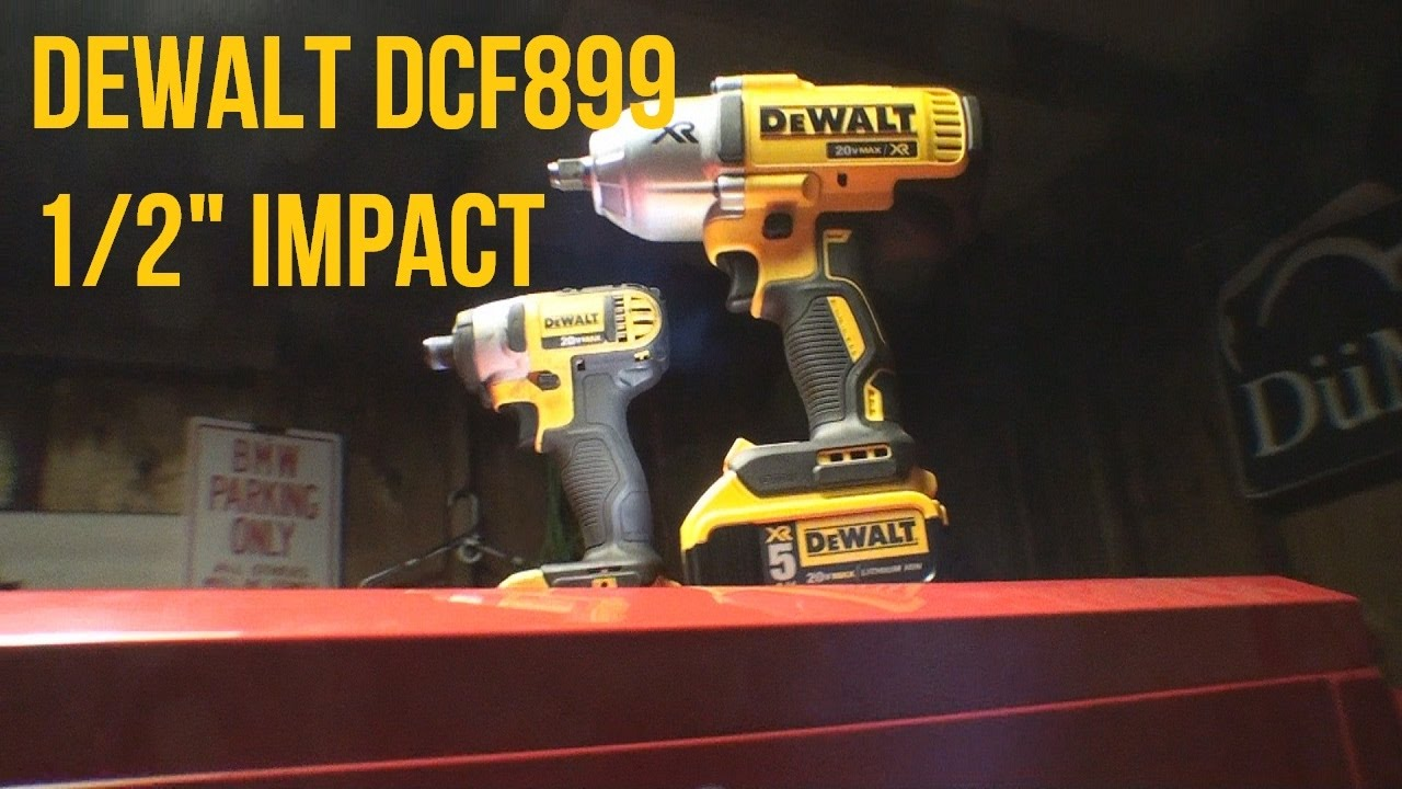initial impressions of the dewalt dcf899 1 2 impact youtube. Black Bedroom Furniture Sets. Home Design Ideas