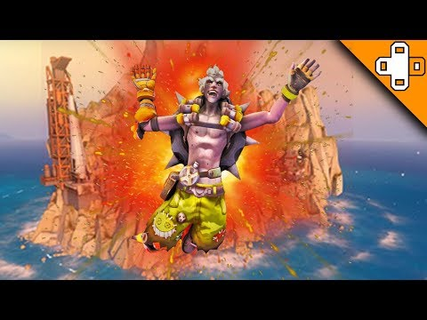 Junkrat Blows Up the WHOLE MAP! Overwatch Funny & Epic Moments 629