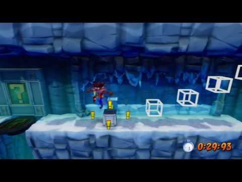 Crash Bandicoot 2 Cortex Strikes Back PS4 - Gold Relic - Snow Go