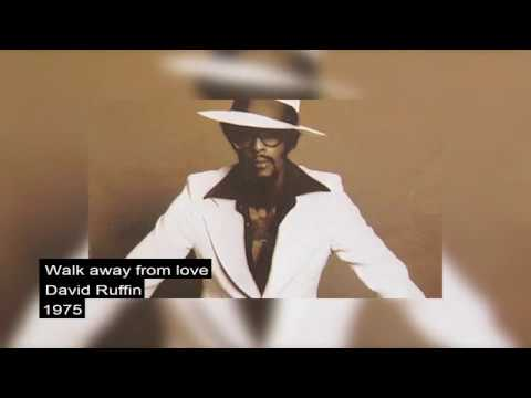 David Ruffin - Walk away from love      1975   LYRICS