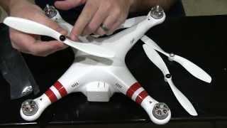 DJI Phantom - How to Install Propellers