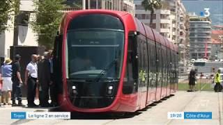 Inauguré ce samedi, le tramway désormais en service à Nice Ouest