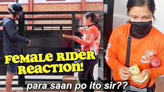 "Ordering from My ""OWN RESTAURANT"" PRANK on Female RIDER! 😂 (Emotional) 🇵🇭"