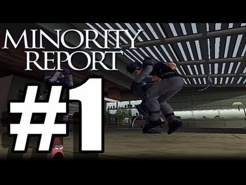 Minority Report W/ Commentary P.1 - HEADACHES!