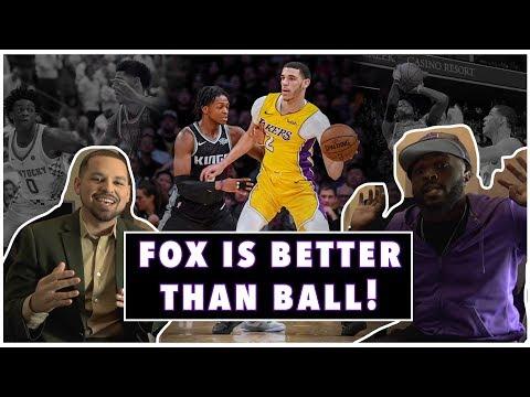 Lance Woods: 'De'Aaron Fox is better than Lonzo Ball'