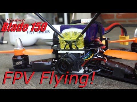Diatone Blade 150 - Flying FPV!