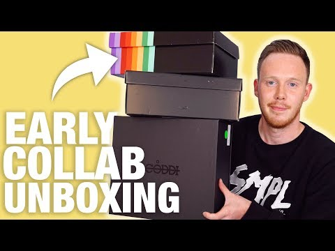 UNBOXING Early Collab SNEAKERS!