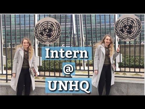 Day in the Life of a UN Intern | UNHQ New York