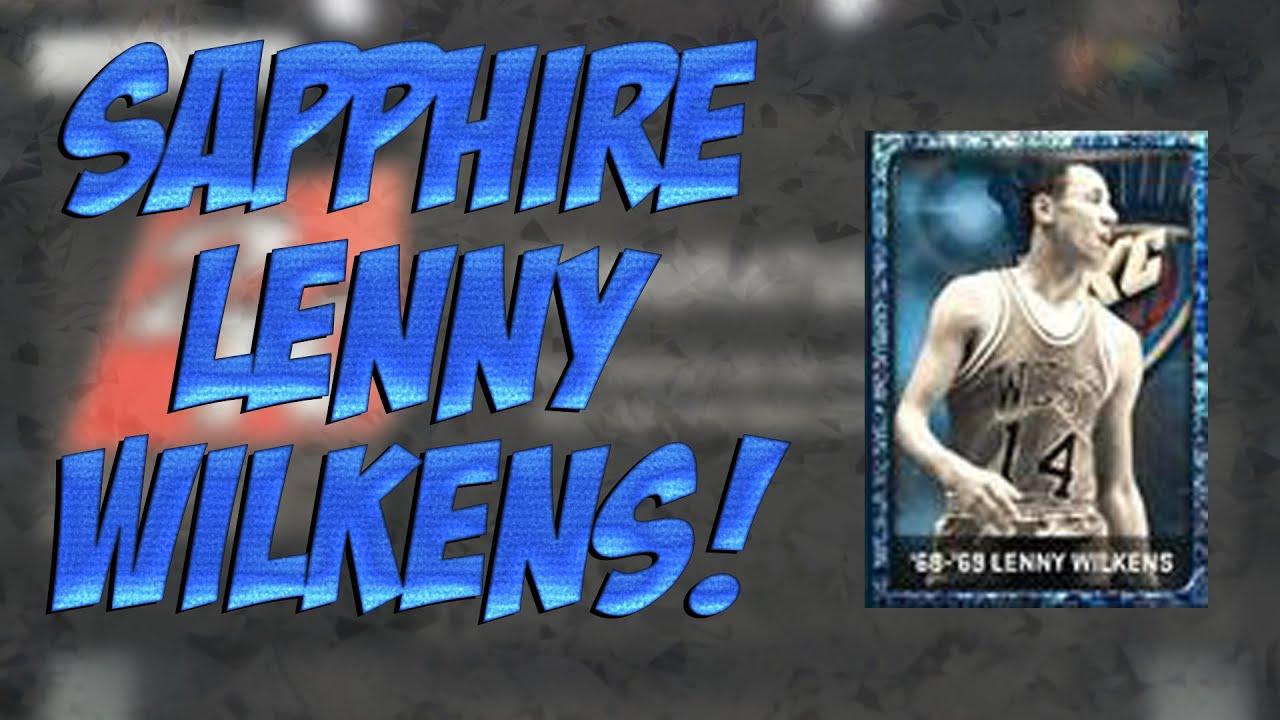 NBA 2K15 MyTEAM SAPPHIRE LENNY WILKENS NBA 2K15 My Team New