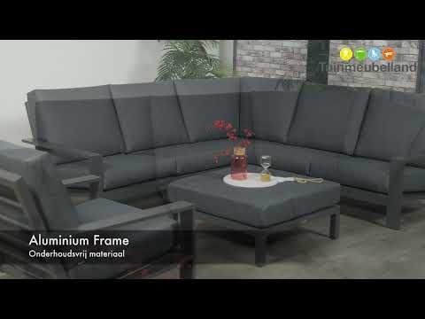 Luxe Loungeset Zwart.Coba Loungeset Zwart Merk Garden Impressions