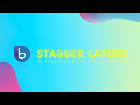 Stagger Layers with BeatEdit for After Effects - In Depth Tutorial
