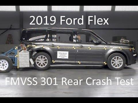 2009-2020 Ford Flex FMVSS 301 Rear Crash Test (50 Mph)