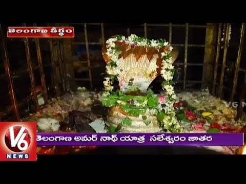 Special Story On Saleshwaram Temple In Nagarkurnool District | Telangana Theertham | V6 News