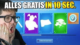 16 NEW FREE ITEMS and only 10 SECONDS time | Fortnite Season 9 English