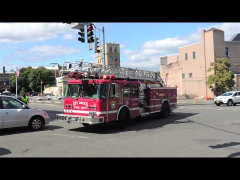 Rye Brook FD Ladder 30 Responding