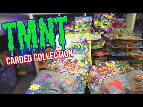 TMNT Carded Figures Collection! Vintage Teenage Mutant Ninja Turtles Toys!