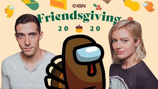 Murdered by Cesaro?? | Among Us IGN Friendsgiving for Charity!