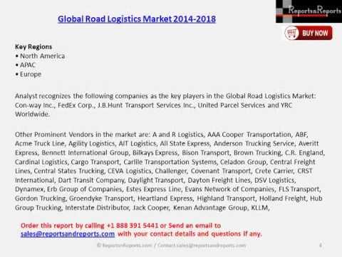 Worldwide Road Logistics