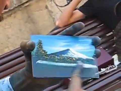 Hand Made Art Work - Just Watch and Amazed.flv