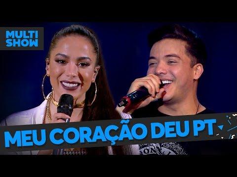 Meu Coração Deu PT   Anitta + Wesley Safadão   Música Boa Ao Vivo   Música Multishow