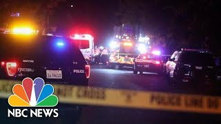 Deadly Shooting At Backyard Football Watch Party In Fresno, Calif. | NBC News