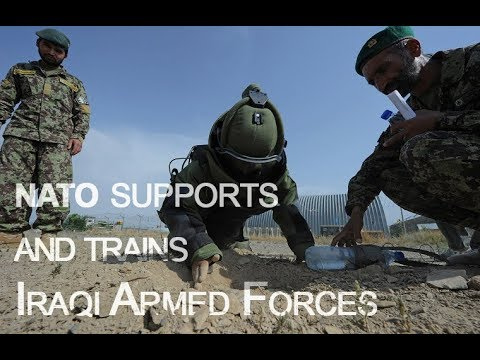 NATO supports and trains Iraqi Armed Forces