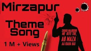 Mirzapur Theme Song   Mirzapur 2   Extended   BGM   Ringtone   Status