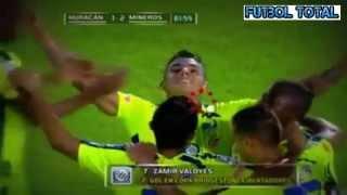 Huracan 2 x 2 Mineros, Los Goles Copa Libertadores de America 2015