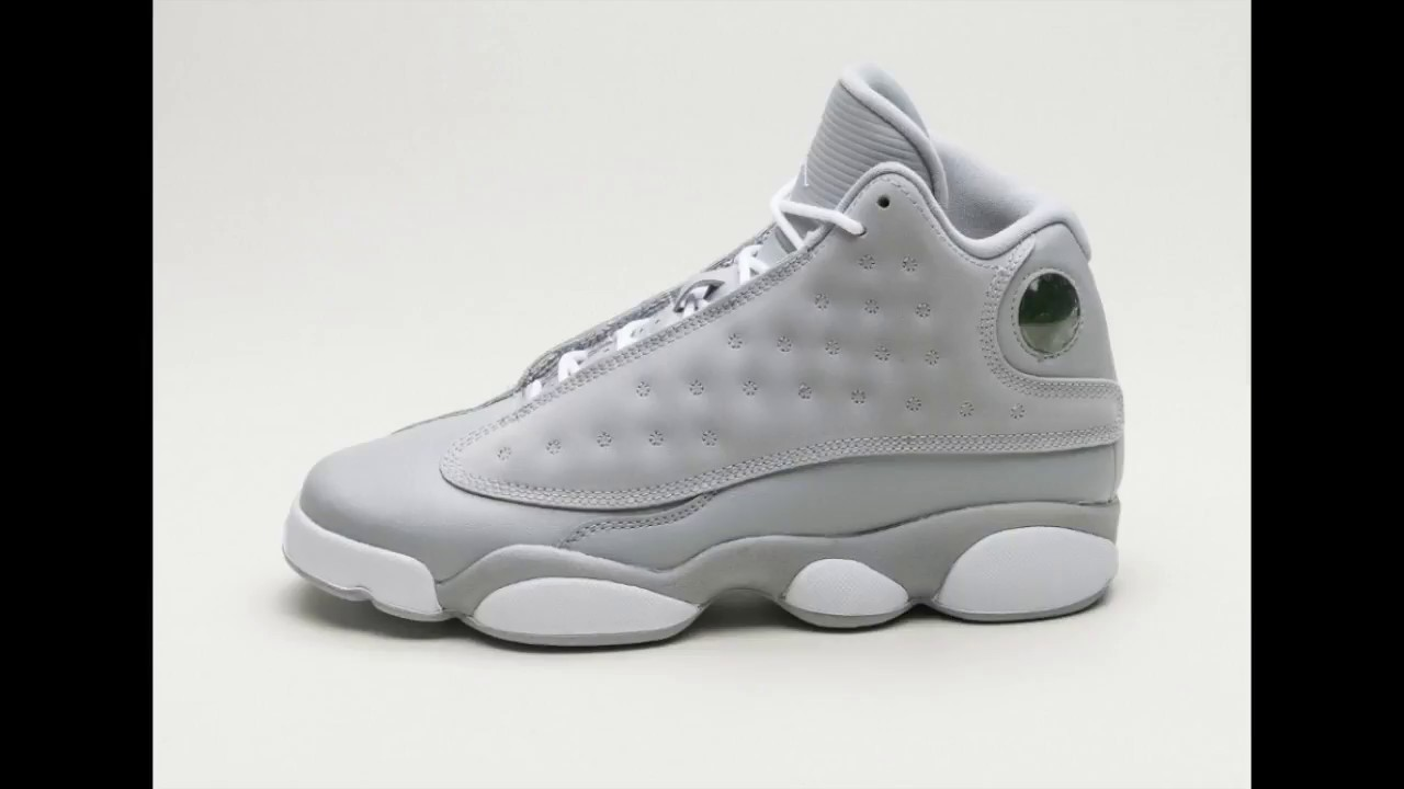 5259e3e7108 Air Jordan - 13 Retro - Wolf Grey - YouTube