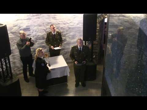 Kaitseliitlaste tunnustamised EV 99.sünnipäeval Paide Vallitornis
