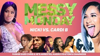 DRAMA ALERT ! NICKI MINAJ VS CARDI B, CHRIS SAILS ARRESTED & MORE | MESSYMONDAY #NICKIMINAJ #CARDIB