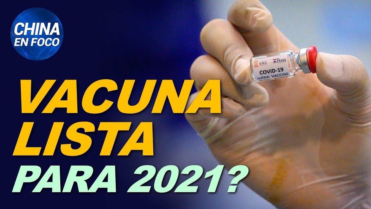 Vacuna para el virus podría estar lista para 2021, EE.UU. ayuda con $1600 millones | China en Foco